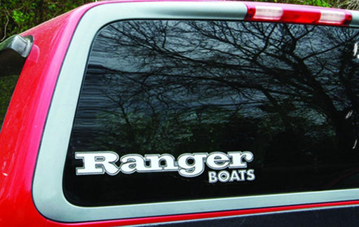 "Ranger Boats Vinyl Decal - 19.5"" x 3.5"" - Angler's Choice Marine"