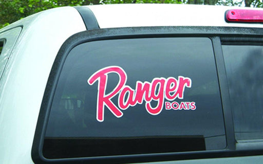 "Ranger Boats Vinyl Decal - 12"" x 6"" - Angler's Choice Marine"