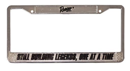 Still Building Legends License Plate Frame - Angler's Choice Marine