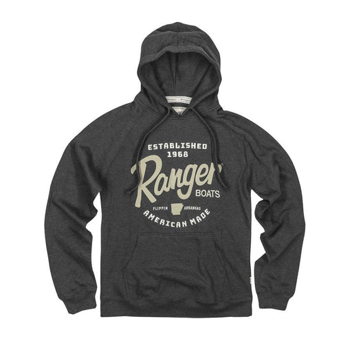 Ranger Est. Hoodie - Charcoal - Angler's Choice Marine