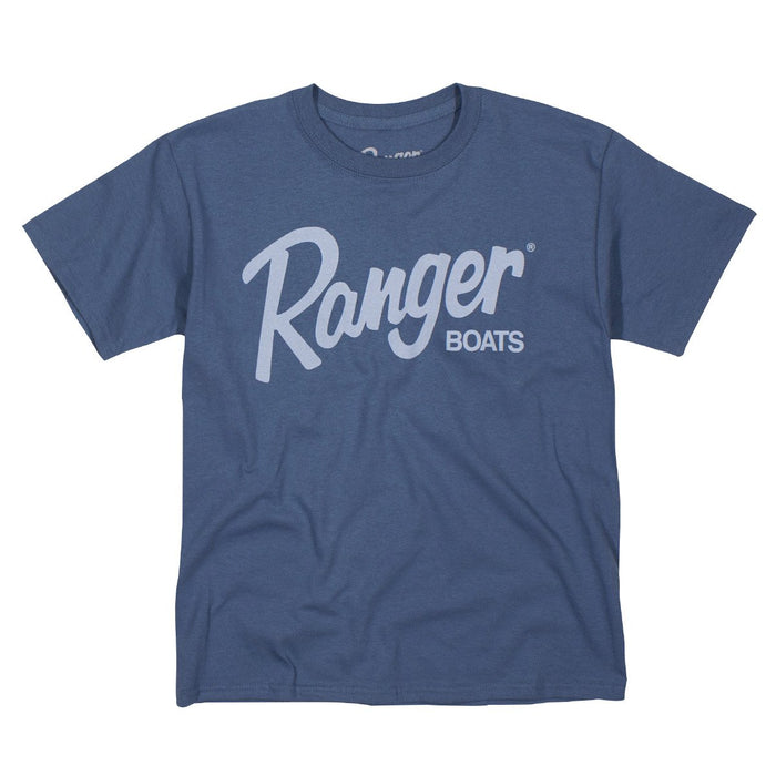 Youth Tee - Indigo - Angler's Choice Marine