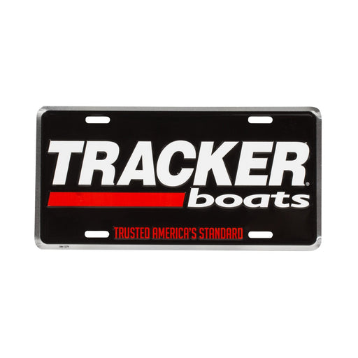 Tracker License Plate - Angler's Choice Marine