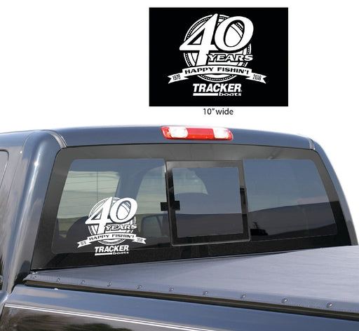 Anniversary Decal - Angler's Choice Marine