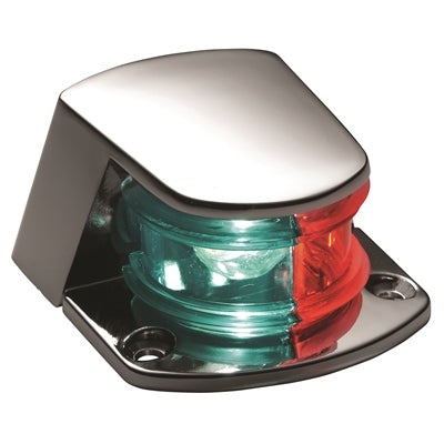 Bi-Color Bow Light - Horizontal Deck Mount - Angler's Choice Marine