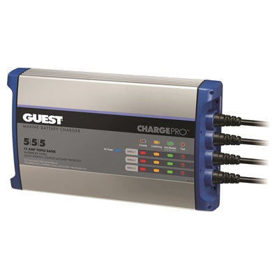 Guest Charge Pro™ 3B - 15 Amp - Angler's Choice Marine