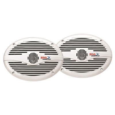"6"" x 9"" 2-Way Marine Full Range Speakers - Angler's Choice Marine"