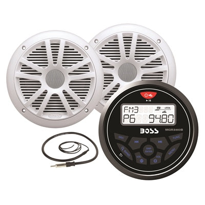 In-Dash Gage MECH-LESS Multimedia Player Package - Angler's Choice Marine