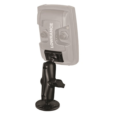 "1"" Ball Marine Electronic ""Light Use"" Mount - For Lowrance Elite-4 and Mark-4 - Angler's Choice Marine"