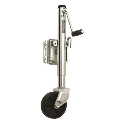 "Bolt-Thru Swivel Mount Jacks - 1,200 lbs. (TW/GTW), 6"" Wheel - Angler's Choice Marine"
