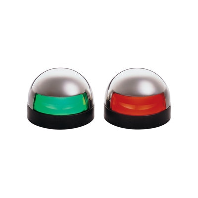 Stainless Steel Horizontal Mount Side Lights - Angler's Choice Marine