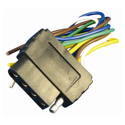 4' Female 5-Way Trailer/Car Wiring Harnesses - Angler's Choice Marine