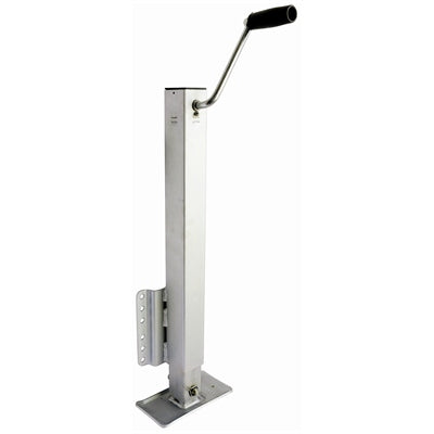 "Drop-Leg Trailer Jack - 2,500 lbs. (TW/GTW) for 3 X 5"" Tongues - Angler's Choice Marine"