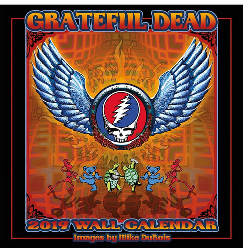 2019 Grateful Dead Calendar - eDeadShop.com