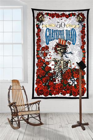 3-D Grateful Dead 50th Anniversary Tapestry - eDeadShop.com