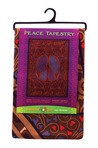 3-D Peace Love Tapestry Wall hanging