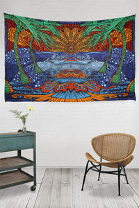 3-D Epic Surf Tapestry