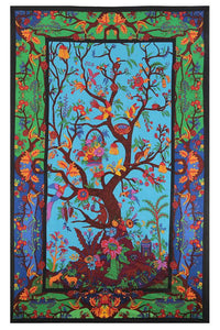 3-D Colorful Tree Of Life Tapestry