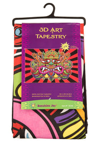 3-D Lord Necio Tapestry