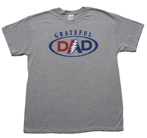 Grateful Dad on grey - eDeadShop.com