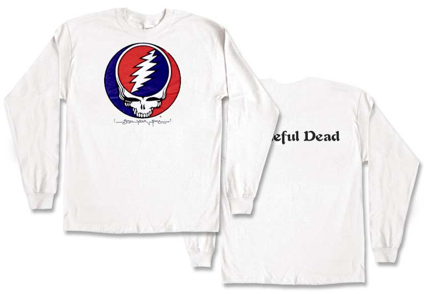 Classic Steal your Face t-shirt Long Sleeve