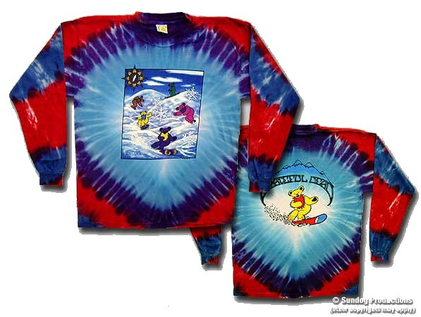 Grateful Dead Snowbears Long Sleeve - eDeadShop.com