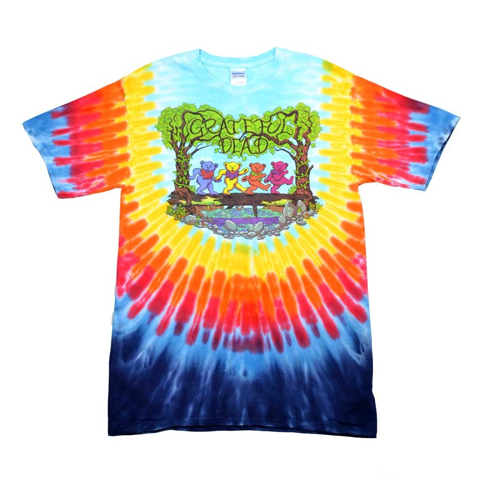 Wood Bears Short Sleeve Tie Dye t-shirt