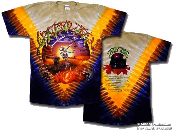 Grateful Dead Harvester t-shirt