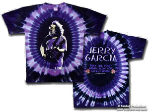 Jerry Garcia Franklin's Tower t-shirt - eDeadShop.com