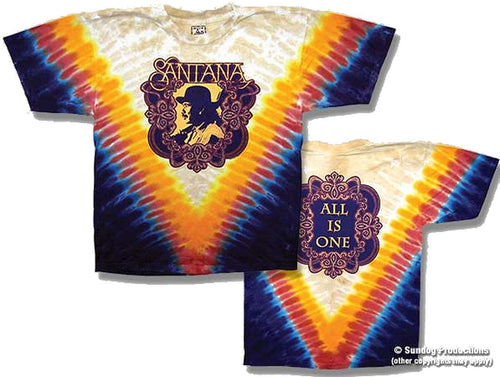 Santana - All is One Tie Dye shirt - eDeadShop.com
