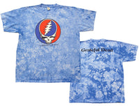 Steal your Face Blue Crinkle t-shirt