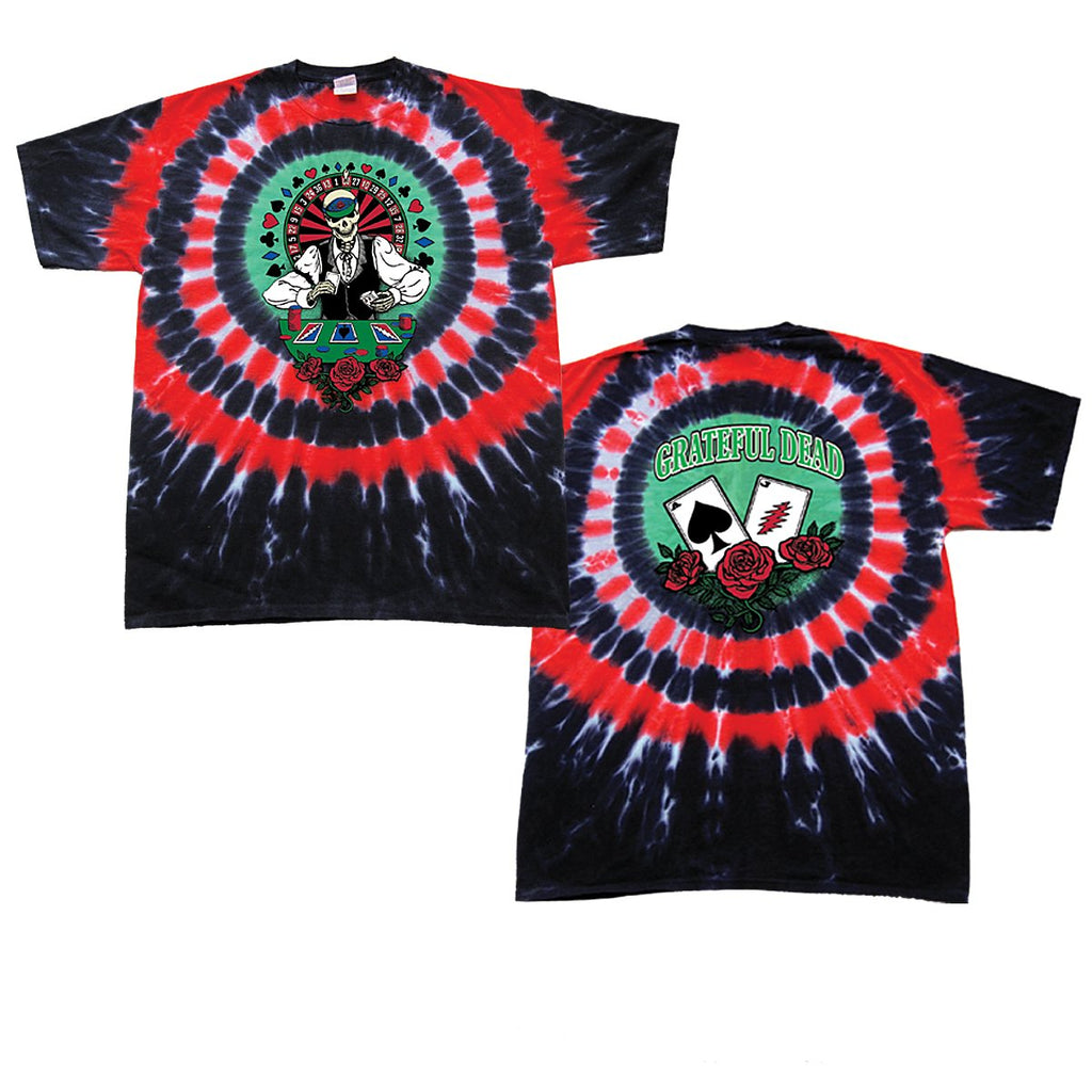 Grateful Dead Dealer tie dye t-shirt