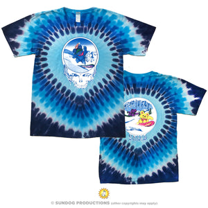 Grateful Dead Shred Bears tie dye tee