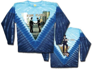 "Pink Floyd ""Burning Man"" Wish You Were Here Long Sleeve Tie-dye"