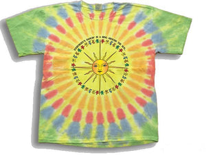 Grateful Dead Bears Around the Sun Youth tie dye t-shirt