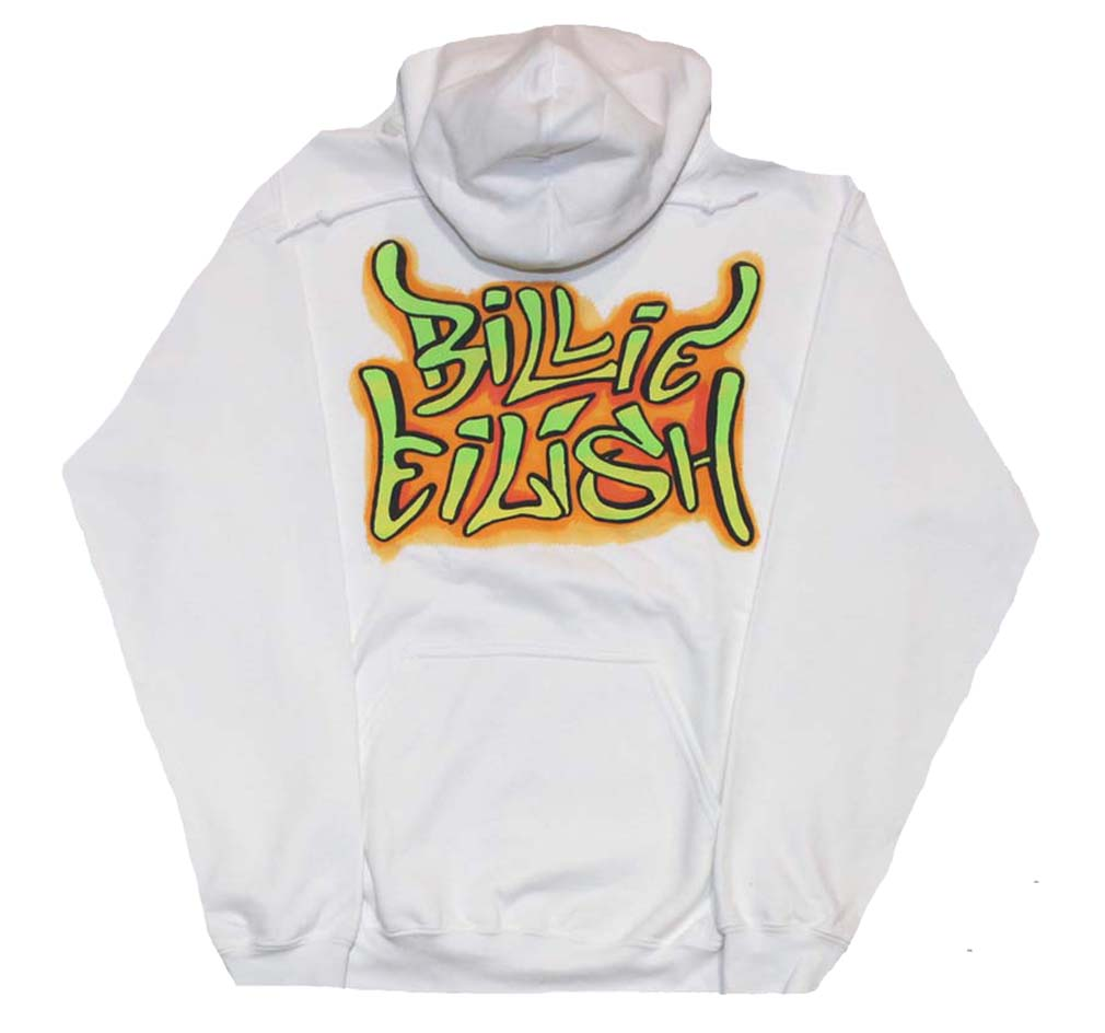 Billie Eilish Grafitti Hoodie Sweatshirt