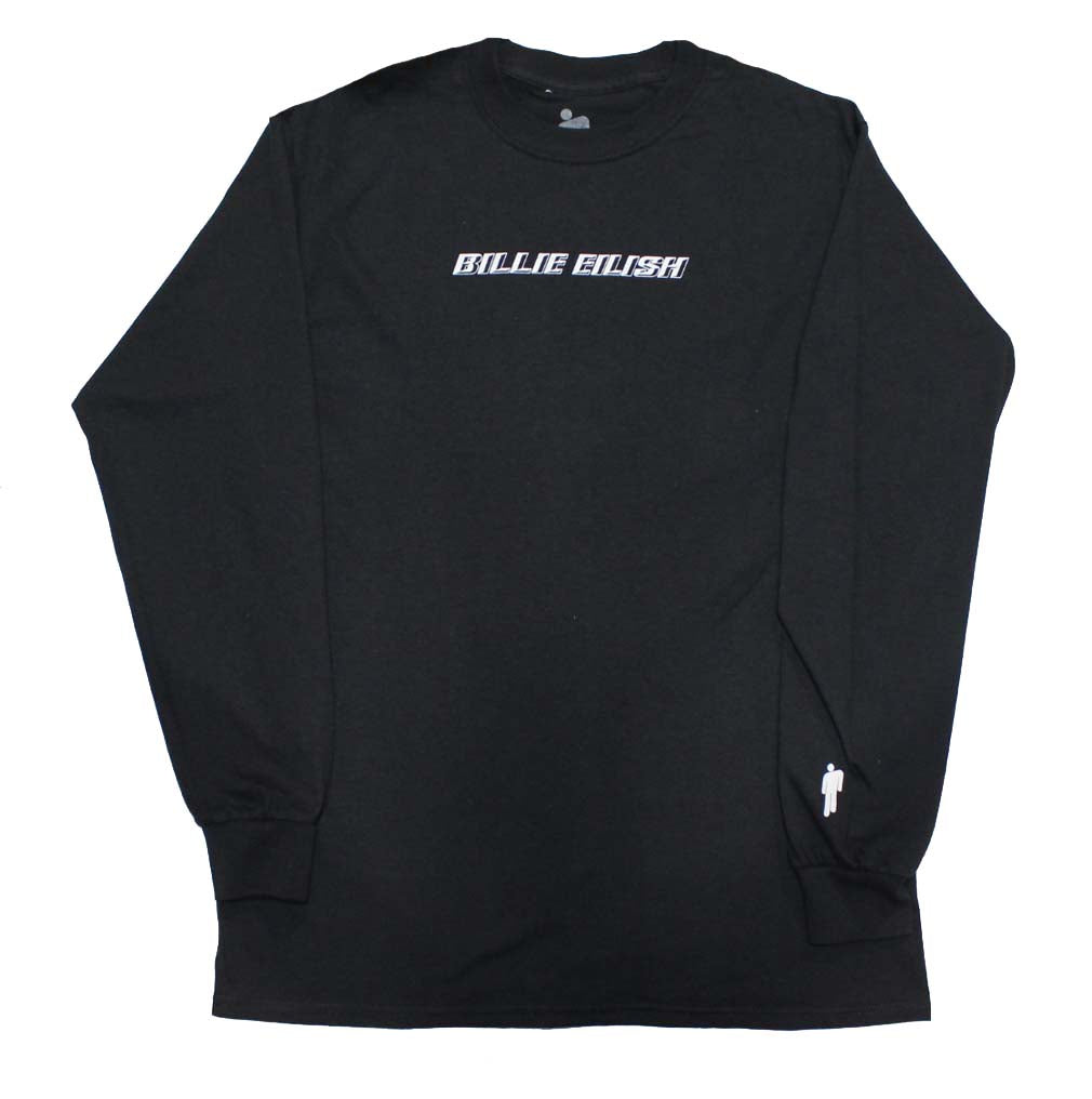 Billie Eilish Black Standard Long Sleeve T-Shirt