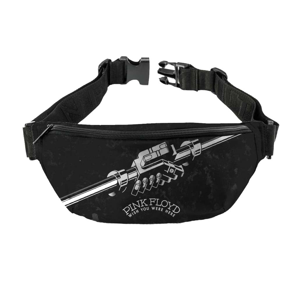 Pink Floyd Wish You Were Here Black and White Fanny Pack