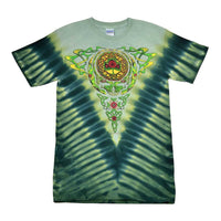Grateful Dead Celtic Knot Steal Your Face Tie Dye t-shirt - eDeadShop.com