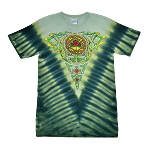 Grateful Dead Celtic Knot Steal Your Face Tie Dye t-shirt