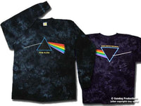 Pink Floyd - Dark Side of the Moon  Long Sleeve Tie Dye - @eDeadShop.com