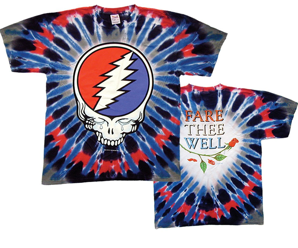 Grateful Dead Steal Your Tears Tie Dye t-shirt