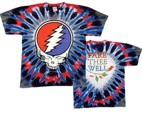 Grateful Dead Steal Your Tears Tie Dye t-shirt - eDeadShop.com