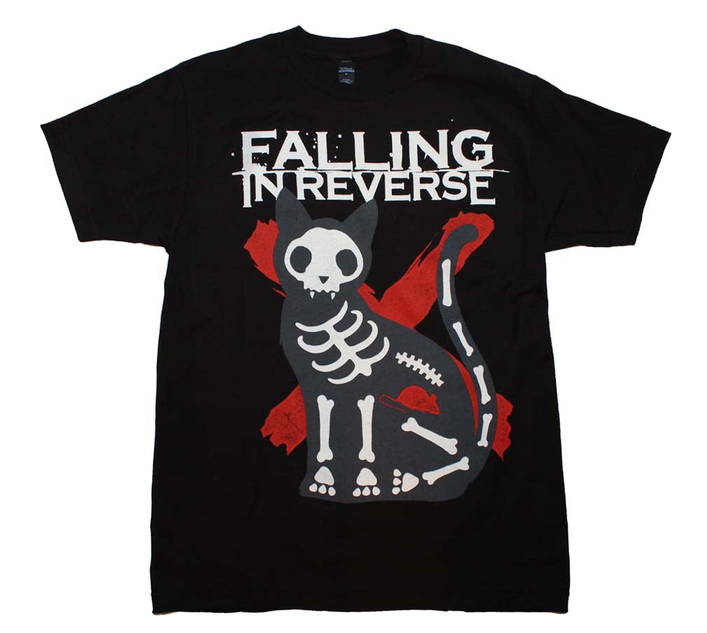 Falling in Reverse X-Ray Cat T-Shirt - eDeadShop.com