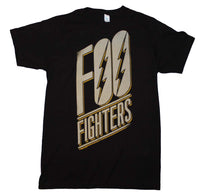 Foo Fighters Slanted Logo Slim Fit T-Shirt - eDeadShop.com