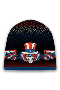 Psycle Sam Knit Beanie Hat on Black