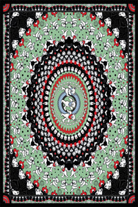 Grateful Dead Black Bears Tapestry - eDeadShop.com