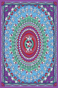 Grateful Dead Purple Bears Tapestry - eDeadShop.com
