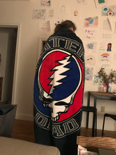 Grateful Dead Seal your Face Aztec Fleece Throw Blanket - eDeadShop.com