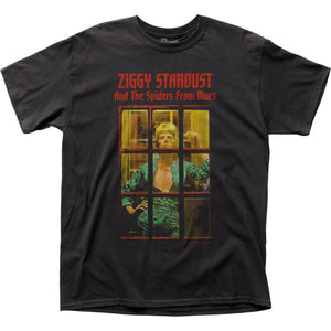 David Bowie Ziggy Phonebooth T-Shirt - eDeadShop.com