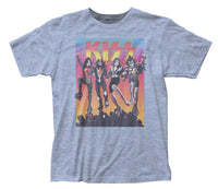 KISS Vintage Inspired Destroyer Fitted Jersey T-Shirt - eDeadShop.com